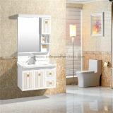 Gesundheitliches Ware-Badezimmer, heißer Verkauf verwendeter Badezimmer PVC-Eitelkeits-Schrank