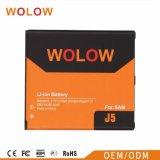 Batterie mobile de bonne qualité pour la batterie au lithium de Samsung J7