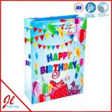 Paper Flag Color Fancy Gift Sacs à provisions pour anniversaire