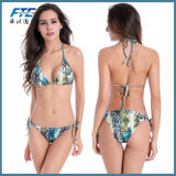 Быстрая доставка пользовательских печатных купальный костюм девушки Бразилии линии бикини