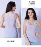 Unterhemd der Großhandelsdame-Trägershirt-Frauen Baumwoll