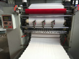 De alta velocidade Auto Facial Paper Slitting Interfold Face Tissue Embossing Machinery