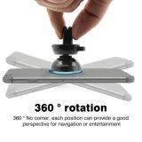 Smartphone Auto-Halter-magnetischer 360 Grad-drehender Auto-Windschutzscheiben-Telefon-Halter