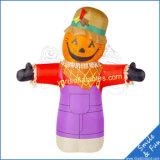 Homme gonflable de potiron de décoration gonflable de Veille de la toussaint pour des vacances de Veille de la toussaint