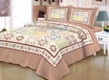 Luxury Home produtos têxteis bordados de Retalhos Indian Colcha Padrão bordadas Lençol Definido