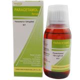 Medicina do xarope de PARACETAMOL 125mg/5ml 100ml