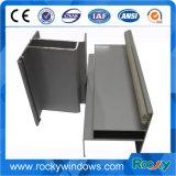 Ventanas de Revestimiento en polvo de la construcción de la puerta de perfil de aluminio