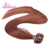卸し売り釘の先端のバージンの人間の毛髪6Aの等級のブラジルのRemyの毛
