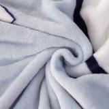 専門のプラシ天毛布の中国カスタマイズされた安い卸し売り毛布
