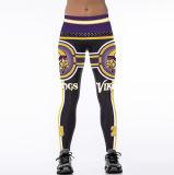 vestiti 2038 dei pantaloni delle ghette di usura di sport di stampa di 3D Digitahi
