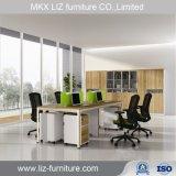 Populärer 4 Seater Büro-Zelle-Arbeitsplatz in der einfachen Art CF2898