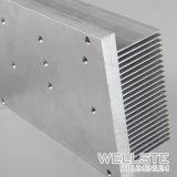 Dissipateur de chaleur en aluminium extrudé personnalisé pour les contrôles industriels