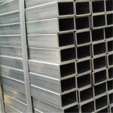 Tubo de acero rectangular galvanizado sección hueco inconsútil de carbón de Helen 3#