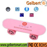 Altofalante sem fio TF de Bluetooth do skate para o PC da tabuleta do iPhone