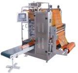 Завалка шипучки льда и машина запечатывания