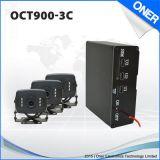 GPS Car Alarm Oct900-R, Vehicle Tracker avec télécommande et 3 ports USB