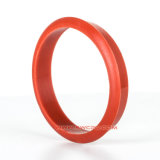 Custom Dust Prevent Grooved SBR Rubber Sealing Gasket for Machinery