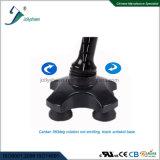 Moderner intelligenter Stock mit der 2 AA-trockenen Batterie und Multiachsenunterseite mit ANC-bunten vier den Beinen der Umdrehungs-360deg in den LED-Lampen-Unterseiten