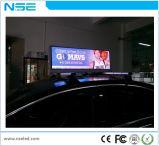 P5 étanche numérique haut de taxi conduit l'affichage des médias
