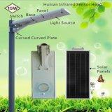 Strada esterna che illumina alta luminosità 15 indicatori luminosi di via solari tutti compresi di W LED