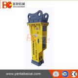 新しいボックス掘削機の接続機構(YLB1400)のための油圧ハンマーの石のブレーカ
