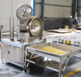 Il popcorn della caramella del riscaldamento di gas/ha soffiato macchina del riso
