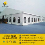 Grande tenda esterna di evento di cerimonia nuziale per bianco di 300 Seater
