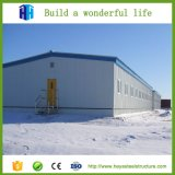 A planta estrutural pré-fabricada a mais barata da construção de edifício do frame de aço dos armazéns