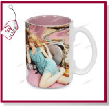 15oz Inside Color Mug Sublimation Coated da Mejorsub