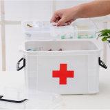 Casella di plastica della medicina del Governo della famiglia bianca materiale dei pp