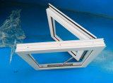 小型の単一の開始窓ガラスUPVCの開き窓のWindows