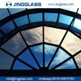 Подкрашиванное защитное стекло Spandrel конструкции здания самого низкого цены керамическое стеклянным