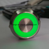 het Sluiten van de Afkanting van het Roestvrij staal van 25mm 316L de Hoofd Bi Lichte 25mm Piezo Capacitieve Schakelaar van de Kleur
