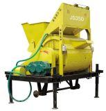 Misturador vertical elevado dos materiais de Concstruction da pá da capacidade Jdc350