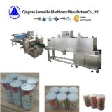 SWC-590 detergente de limpeza da máquina de embalagem retrátil Automática