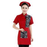 Venda por grosso de fábrica Estrela Michelin Hotéis garçom garçonete uniformes com logotipo da moda