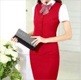 Uniforme di vestito convenzionale all'ingrosso dalle signore dell'ufficio dello Stewardess di linea aerea dell'OEM