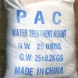Het lichtgele Chloride van het Poly-aluminium van de Behandeling PAC van het Drinkwater van het Poeder