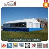 Vidro de luxo tenda Hall para partes de vidro partido tenda para venda