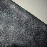 ホーム装飾のための花によって印刷される古典的な壁ペーパーPVC革