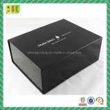 Lid를 가진 까만 Magnetic Closure Gift Box