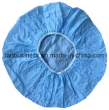 Blue에 있는 PVC 단 하나 Layer Shower Cap