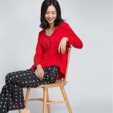 Vestito 100% dai pigiami del pullover del vestito degli indumenti da notte del cotone di modo di alta qualità