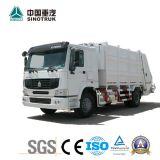 Camion professionnel de compacteur d'ordures de compresseur d'hygiène d'approvisionnement de taille du réservoir 15m3