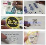 Пользовательские прозрачный ПВХ Self-Adhesive высокого качества печати этикетки/наклейке/нажмите