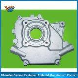El acero y el aluminio de la maneta a presión el molde de metal de la fundición