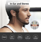 Hot Salt LT-22 Bluetooth Headset Magnetic Suction Bluetooth Headset 4.2 Stereophony Earphone Sport Neckband Headset