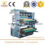 Impresora plástica multicolora estándar del bolso de la camiseta de Flexo del CE