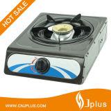 Cocina de gas de quemador de aluminio dorada de hierro de aluminio Jp-Gc101ts