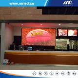 2016 visualizzazioni di LED personalizzate locative dell'interno di pubblicità dello schermo di visualizzazione del LED della fase di P6mm (576*576)